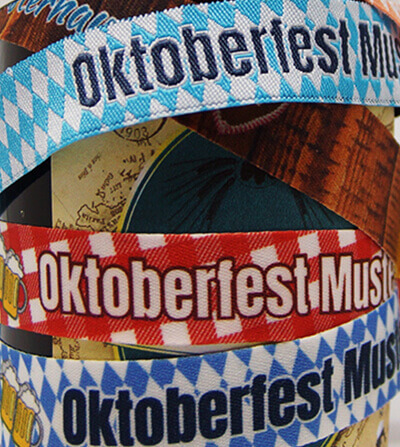 Wristbands for Oktoberfeste