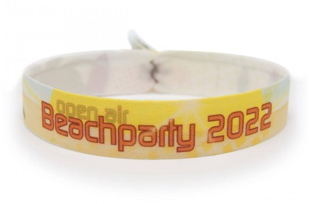 "Wristband ""beach party"""