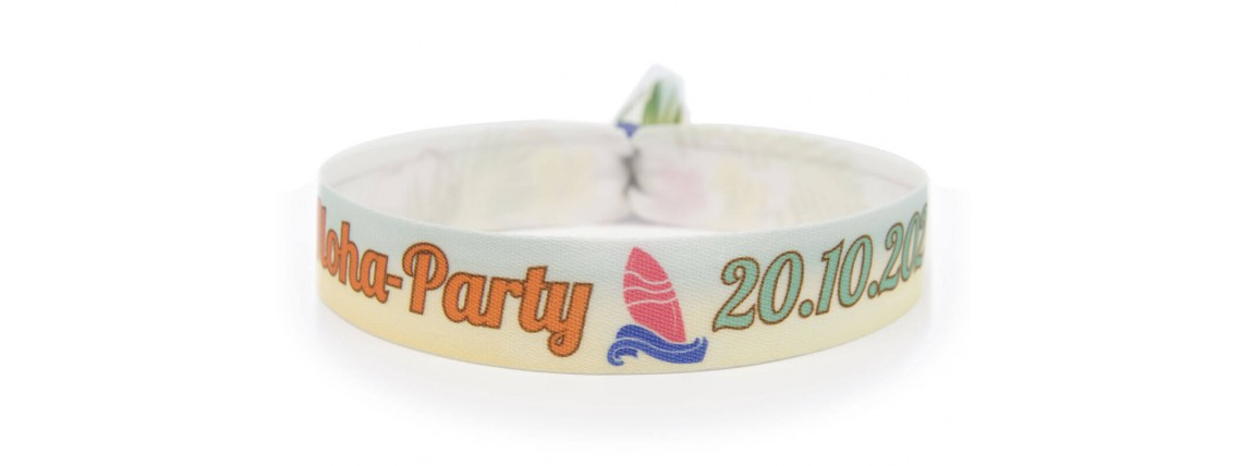 "Wristband ""hawaii-party"""