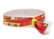 "Fabric wristbands ""Festi-Ville"""