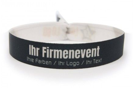 Printed bracelets for companies
