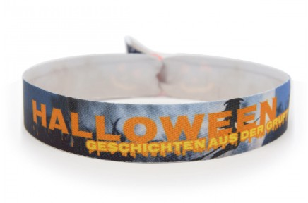 "Wristband Halloween-Party ""Grave Digger"""