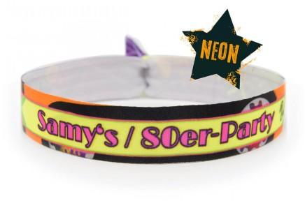 Wristband NEON - 80s