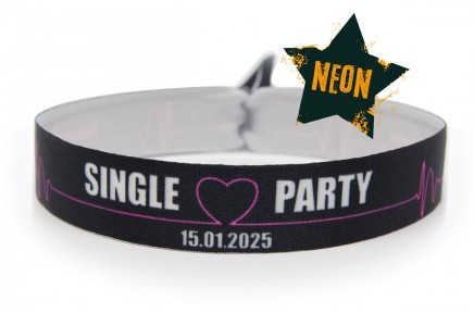 NEON-wristband single party