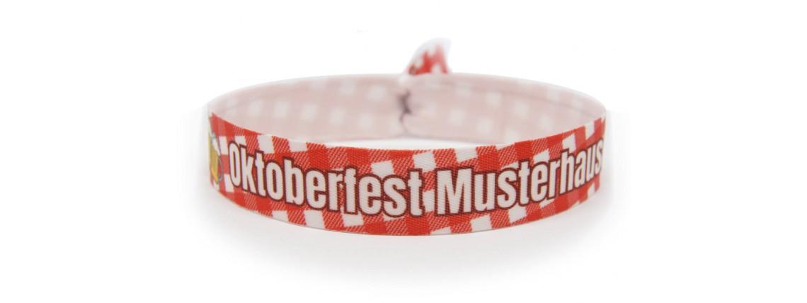 "Wristband ""Oktoberfest"" - red"