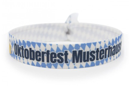 "Wristband ""Oktoberfest"" - blue"