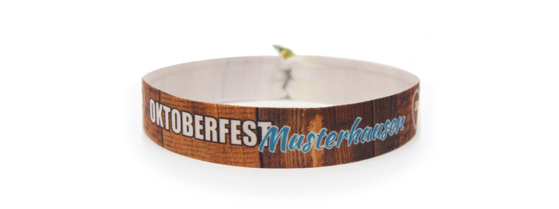 "Wristband ""Oktoberfest"" - wood"