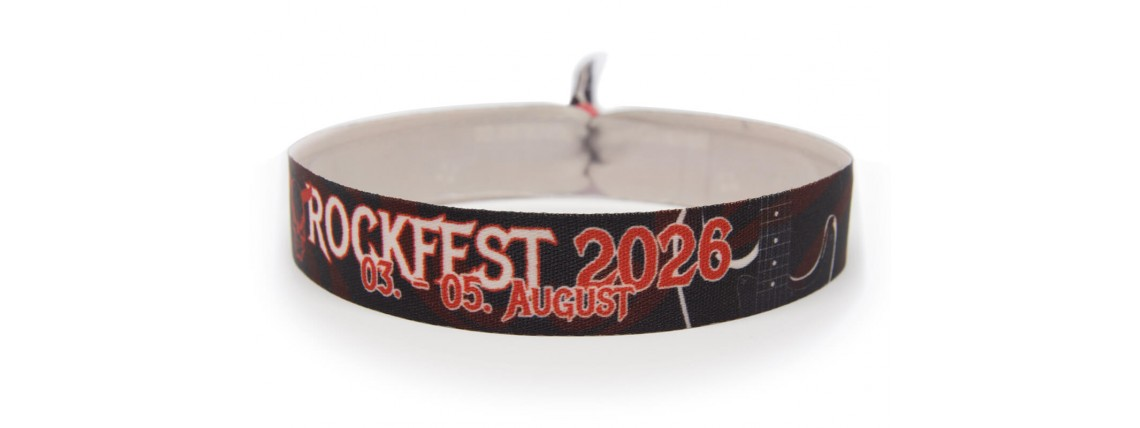 Wristbands rock fest