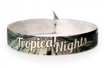 Fabric bracelet - Tropical