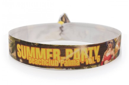 "Wristband ""summer party"""