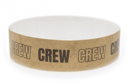 Wristband one-colour print - CREW