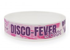 Wristband with Colour Printing - Disco-Fever