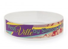 Wristband with Colour Printing - Festi-Ville