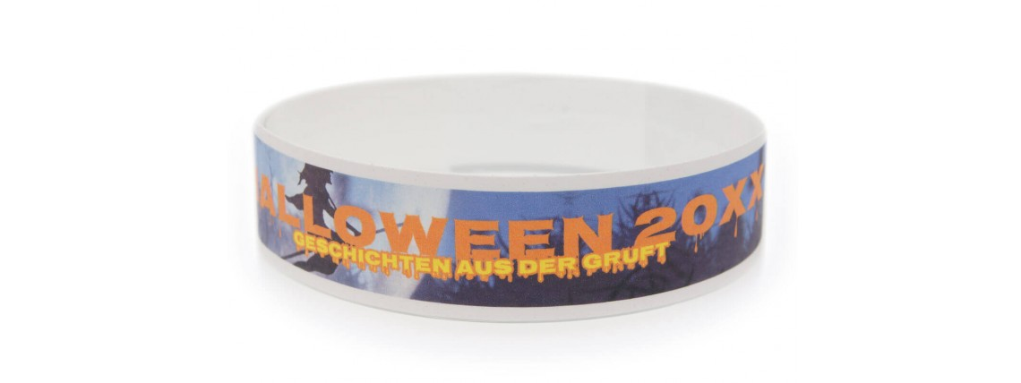Tyvek® Wristband with Color Printing