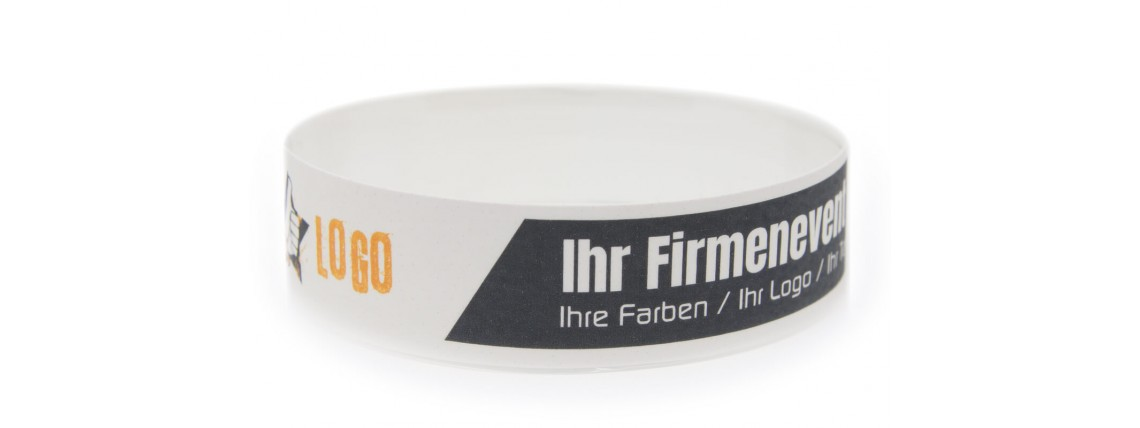 Wristband with Colour Printing - Company