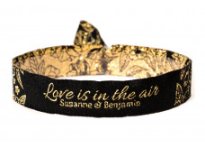 Woven bracelet - Love is in the air