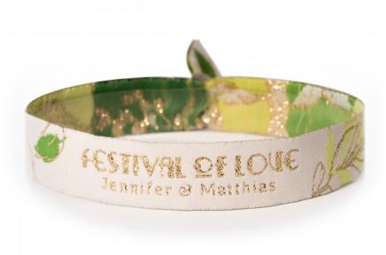 Woven bracelet - Festival of Love