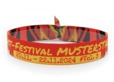 """Woven bracelet """"Gaudy festival"""""""