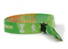 """Woven bracelet """"Soccer"""""""