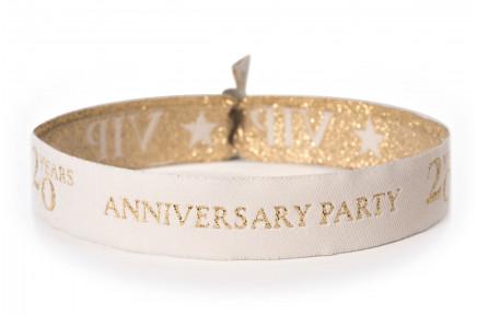 Woven bracelet - X Years Anniversary