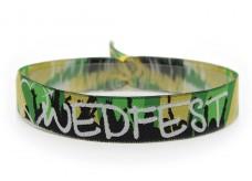 Woven bracelet WEDFEST