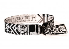 Bracelet with lurex thread - Great Gatsby Party