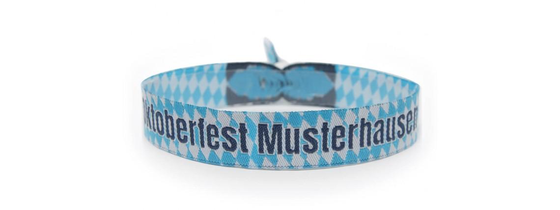 "Woven bracelet ""Oktoberfest"""