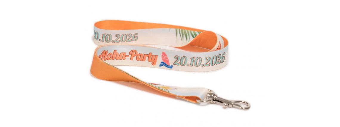Keychain - Hawaii Party