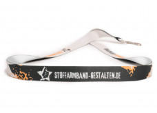 Design your own lanyard - 1 sided